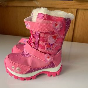 Other - Peppa Pig light up snow boots